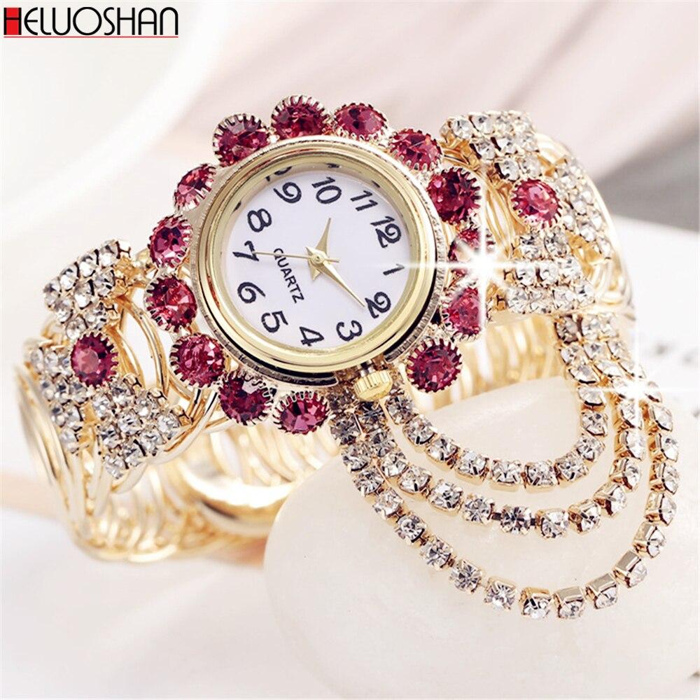 2020 Top Marke Luxus Strass Armband Uhr Frauen Uhren Damen Armbanduhr Relogio Feminino Reloj Mujer Montre Femme Uhr