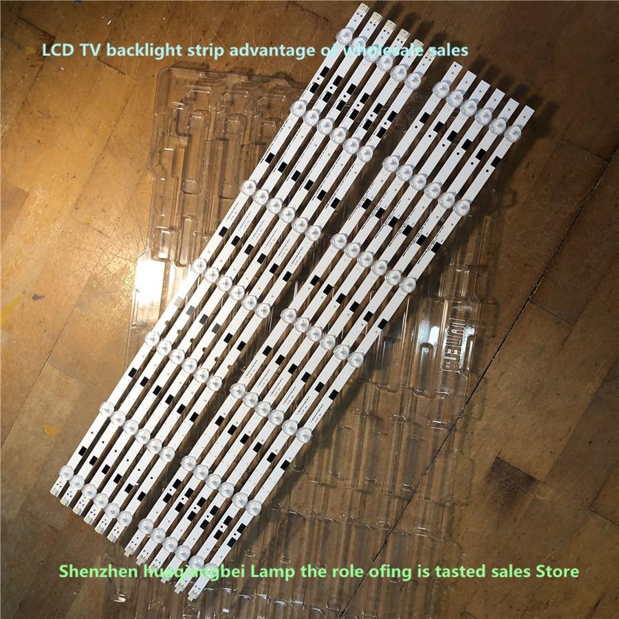 1 مجموعة = 12 قطعة 1170 مللي متر LED الخلفية مصباح قطاع 14 المصابيح ل سام سونغ 58 بوصة التلفزيون UA58H5288 2014SVS58 LM41-00091F LM41-00091G UE58J5200