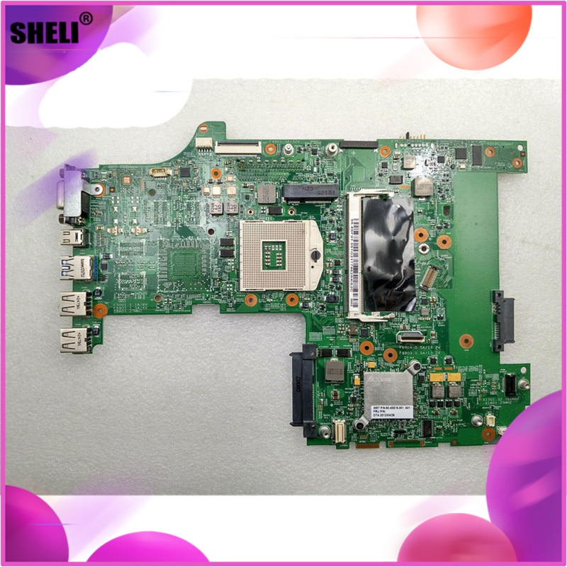 SHELI FRU 04W3572 para Lenovo L530 placa base HM76 integrada