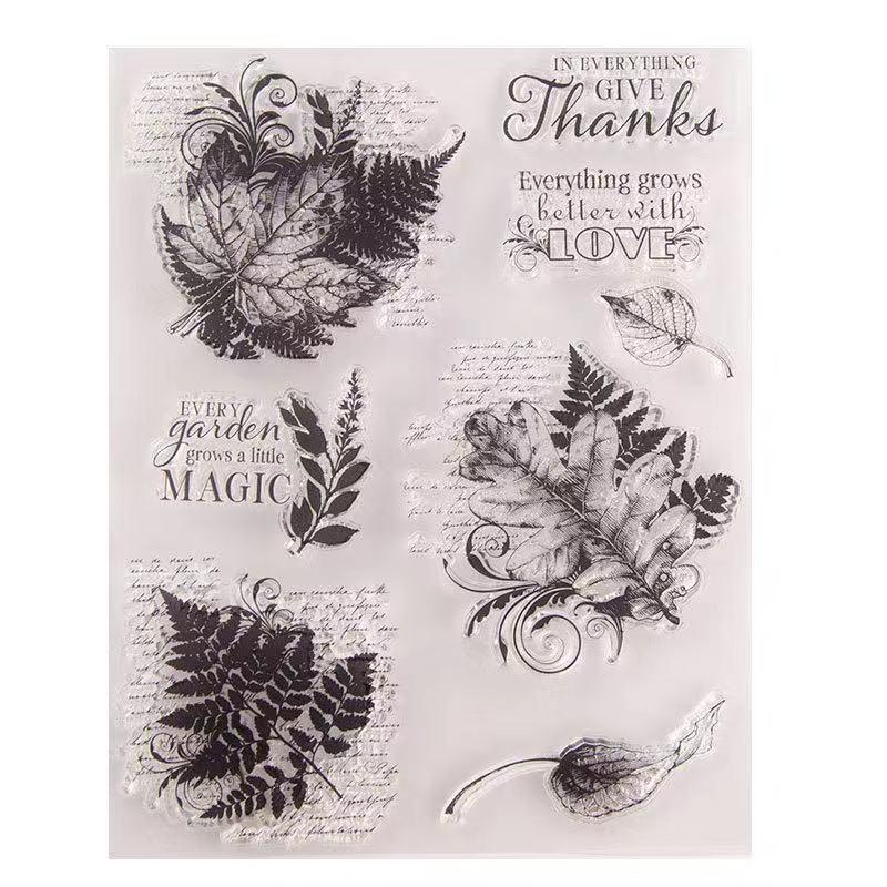 Natal selos claro transparente para DIY do scrapbook artesanal acabados T1626 capítulo selo borboleta floco de carimbos de borracha