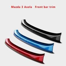 Suitable for 14-19 Mazda 3 Axela Front Bar Trim Modified front bumper front lip trim accessories