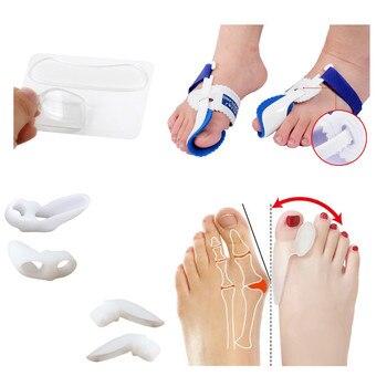 Big Toe Separator Straightener Silicone Foot Care Gel Bunion Protector Foot Pain Relief Hallux Valgus Correction Foot Massager