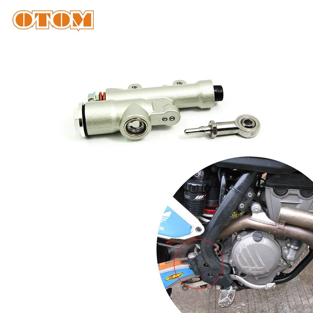 OTOM Motorcycle Rear Brake Master Cylinder Repair Part Rear Brake Device Front Pump For KTM HUSQVARNA 250XCF 350XCF RC200 RC390