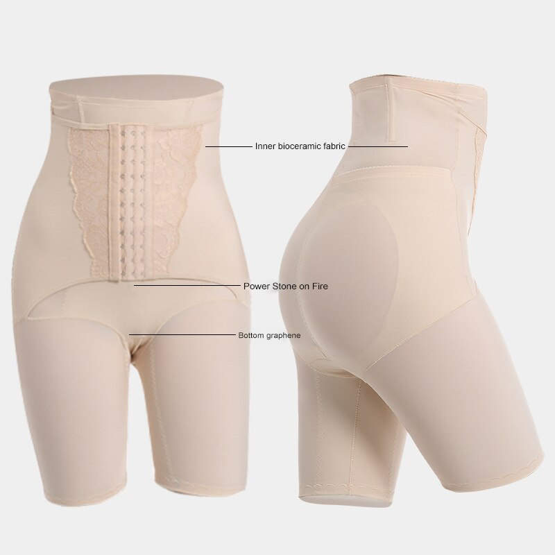 Waist Trainer Tummy Shaper Corset for Weight Loss Butt Lifter Shapewear Slimming Booty Lift Pulling Underwear High Waist Shaper enlarge