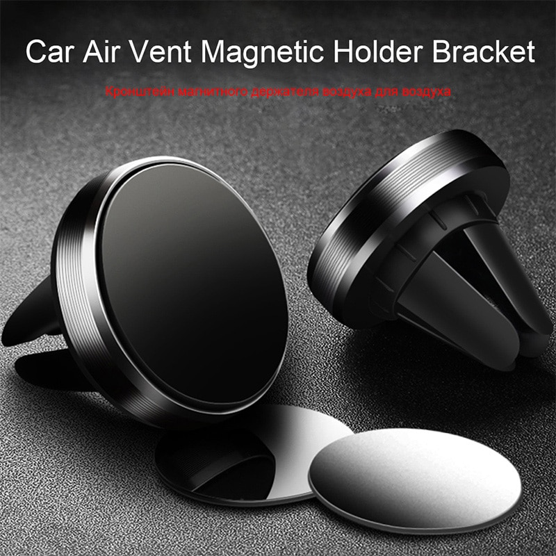 Round Magnetic Phone Holder in Car Powerful Magnet Adsorption Stand Car Magnetic Holder for Phone fo