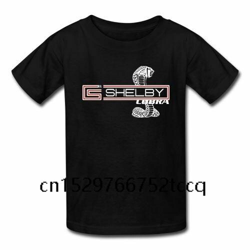 Mode été t-shirt Mustang Shelby Cobra blanc Super serpent hommes Gildan été mode manches t-shirt