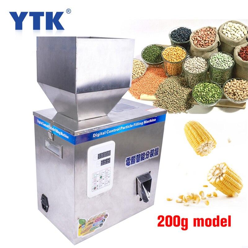 1-200g 200W Inteligente Medicina Máquina De Chá Máquina De Enchimento De Pesagem De Grãos De Sementes De Frutas de Enchimento Máquina de Enchimento de Pó 110V 220V