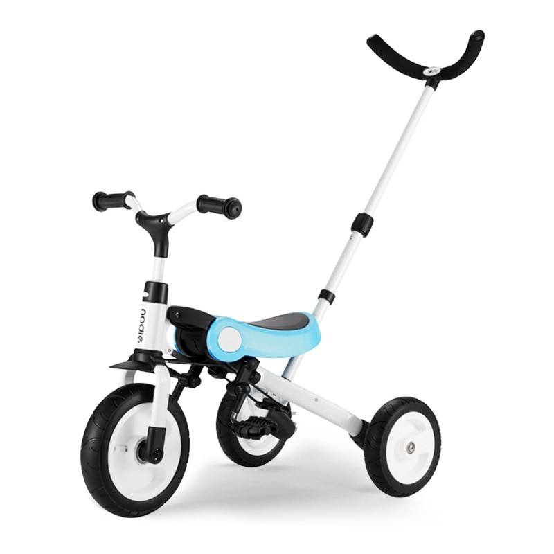 LazyChild 3-in-1 Infant Trike Foldable Balance Bike For Child  Multifunction Kid Kick Scooter Child Stroller With Fence 2021 enlarge