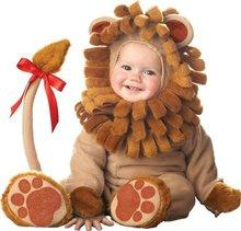 Bébé garçons filles roi Lions dessin animé animaux Cosplay Costumes enfant noël Halloween combinaison nouveau-né infantile photographie accessoires