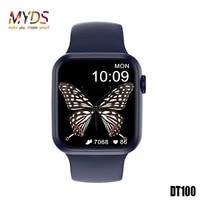 original dt100 smart watch 2021 men bluetooth call heart rate ecg 1 75 inch infity screen smart watch women smartwatches pk hw22