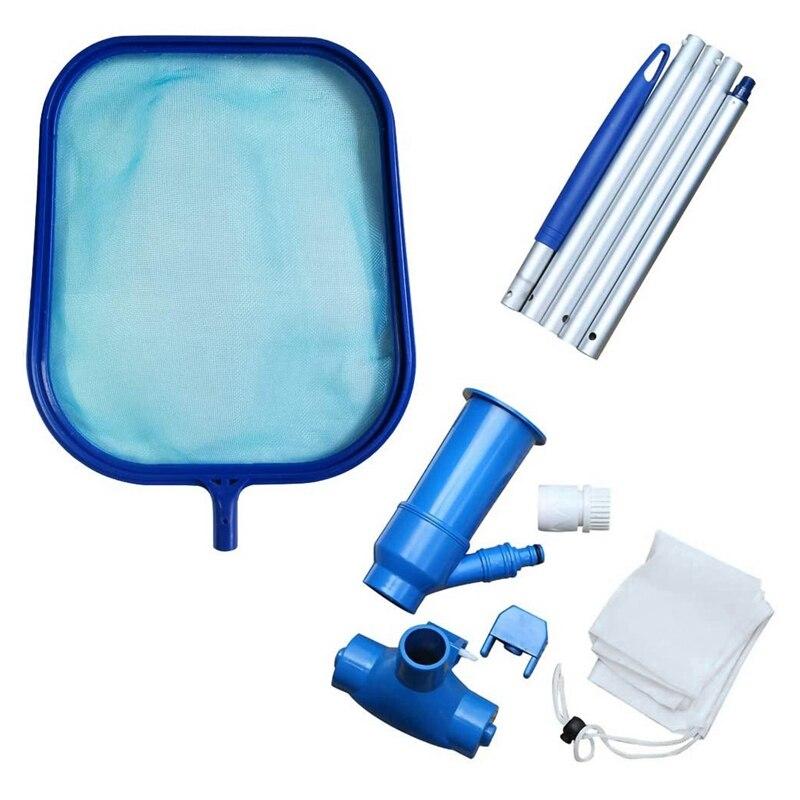 ¡Promoción! Set de cabezal de aspiradora para piscina y espumadera de red, suministros y accesorios de limpieza para piscinas y Estanque de Spa