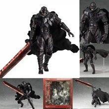 Berserk Figma 410 noir épéiste PVC figurine à collectionner modèle jouet poupée cadeau