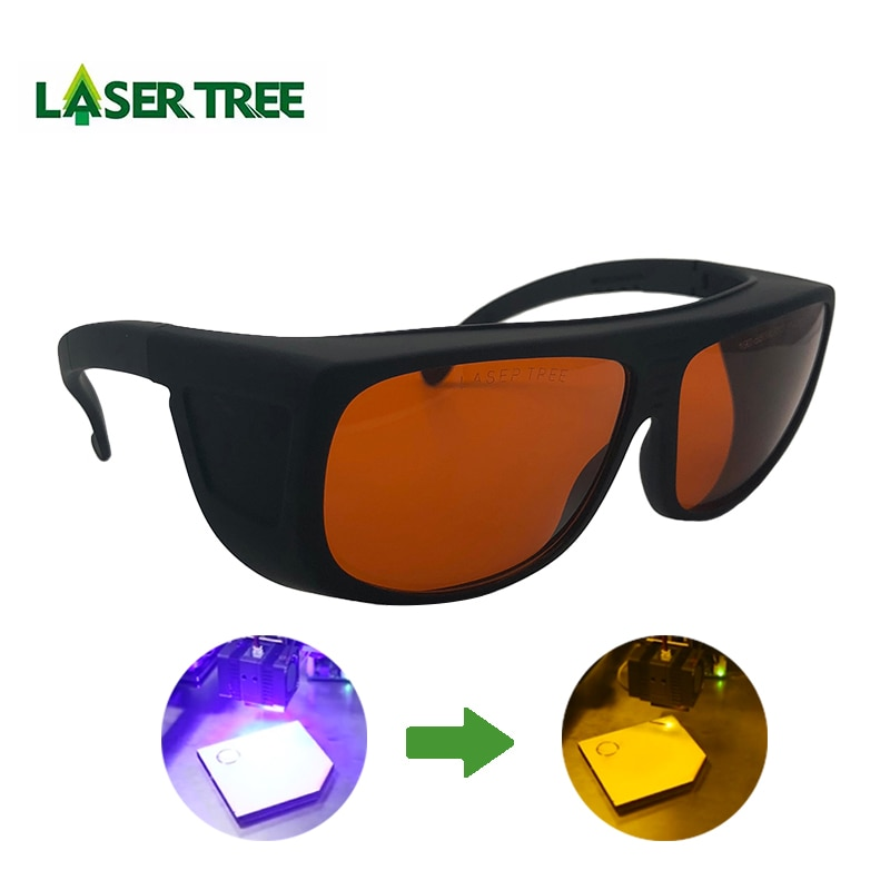T3GD4-S5 190-550 و 800-1100nm OD4 + ليزر واقية نظارات الليزر السلامة نظارات