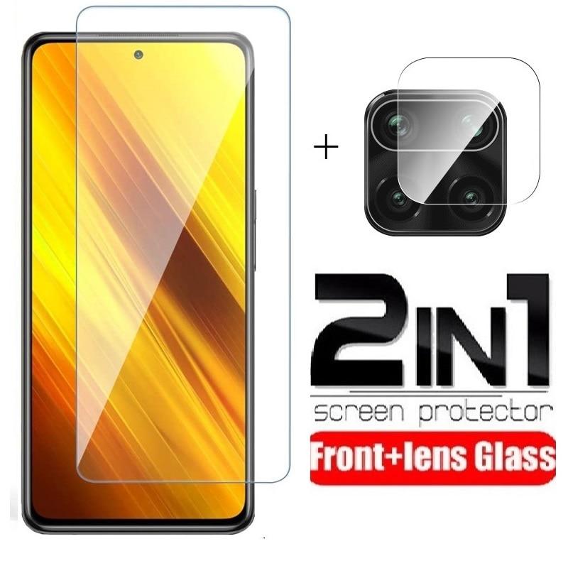 Protector de pantalla de vidrio templado para Redmi Note 9 S 8...