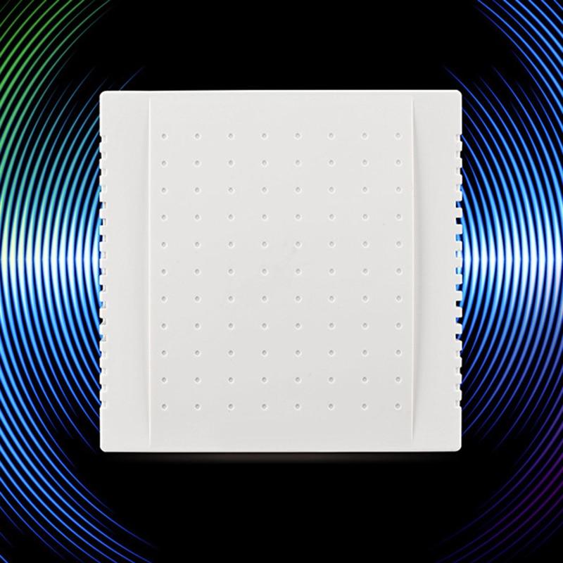 1 Piece 108x108x36mm 220V Wired Doorbell Din Don Hardware Doors Bells Hotel Door Bell Panel  Doorbel