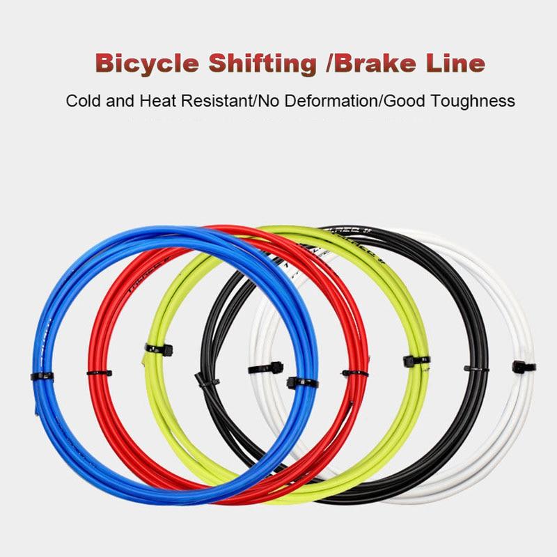 DKSAHEMTB vélo vélo avant arrière intérieur fil extérieur frein manette de vitesse dérailleur boîtier câbles Kit vtt route vélo partie
