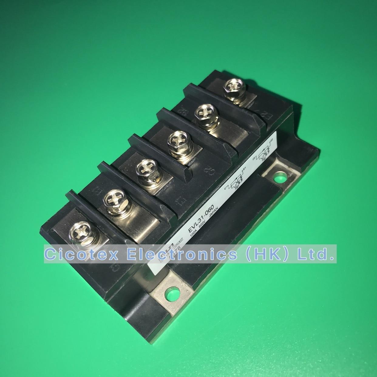 EVL31-060 وحدة IGBT 100A 600V القطبين الترانزستور وحدات تصنيف والمواصفات EVL31060