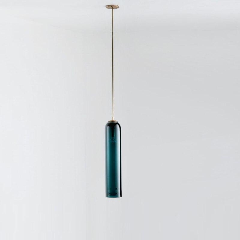 Nordic Pendant Lights Postmodern Glass Hanging Lamp For Bedroom Dining Room Bar Decor Luminaire E27 Hanglamp Kitchen Fixtures