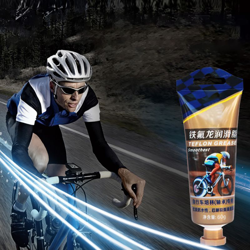 60g MTB/bicicleta de carretera cojinete del cubo de la grasa con teflón grasa para bicicleta soporte inferior grasa bicicleta accesorio