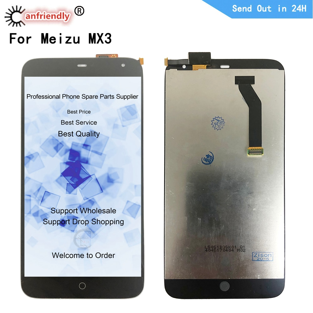 black 5 2 for meizu pro 7 lcd display screen touch panel digitizer white black for meizu pro7 lcd screen free shipping tools 5.1 LCD For Meizu MX3 LCD Display Touch Screen Digitizer Sensor Assembly Display for Meizu MX3 Display Tested OK Replacement