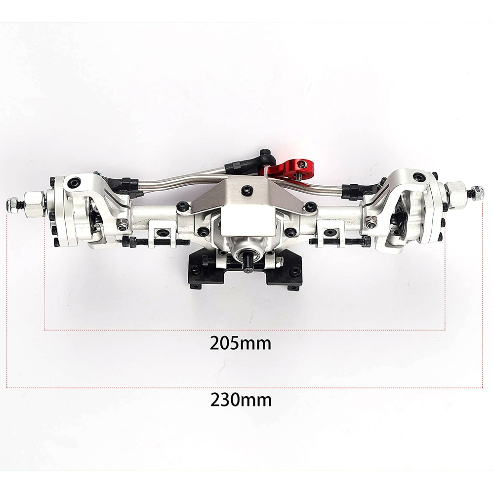 Axes Rc Portal Axle Accessories Shaft For Crawler 1/10 Parts Body Metal Gear Axial Scx10 Ii Upgrades Bearing Wraith Drive Shaft enlarge