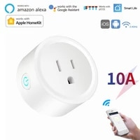 Prise intelligente Wifi 10A US  controle a distance via application Homekit   Tuya