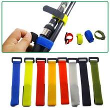 Sujetadores de caña de pescar, correas, correas, tirantes, gancho, lazo, Cable, cinturón, accesorios de herramientas de pesca