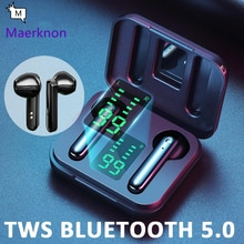 5.0 TWS Bluetooth Wireless Headphones Wireless Bluetooth Earphone With Mic Sports Headsets Touch Con