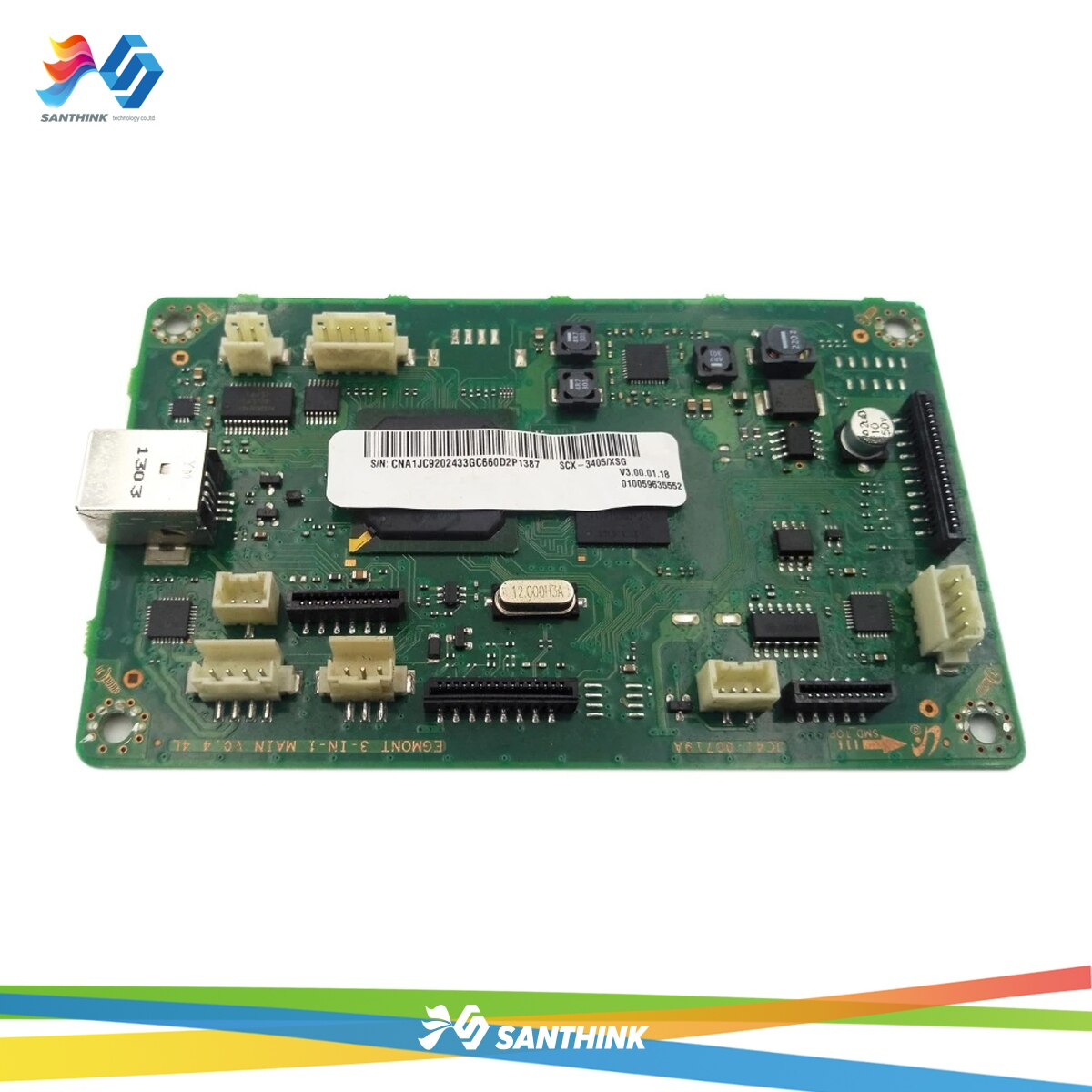 JC41-00719A المنطق اللوحة الرئيسية ل سامسونج SCX-3400 SCX-3401 SCX-3405 SCX 3400 3401 3405 SCX3405 SCX3400 مجلس المنسق