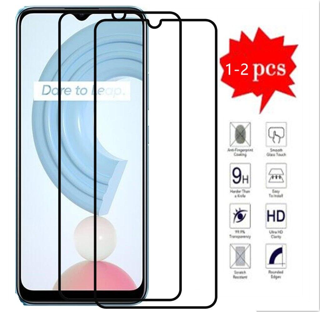 Full Cover Tempered Glass On For OPPO Realme C21 6.5