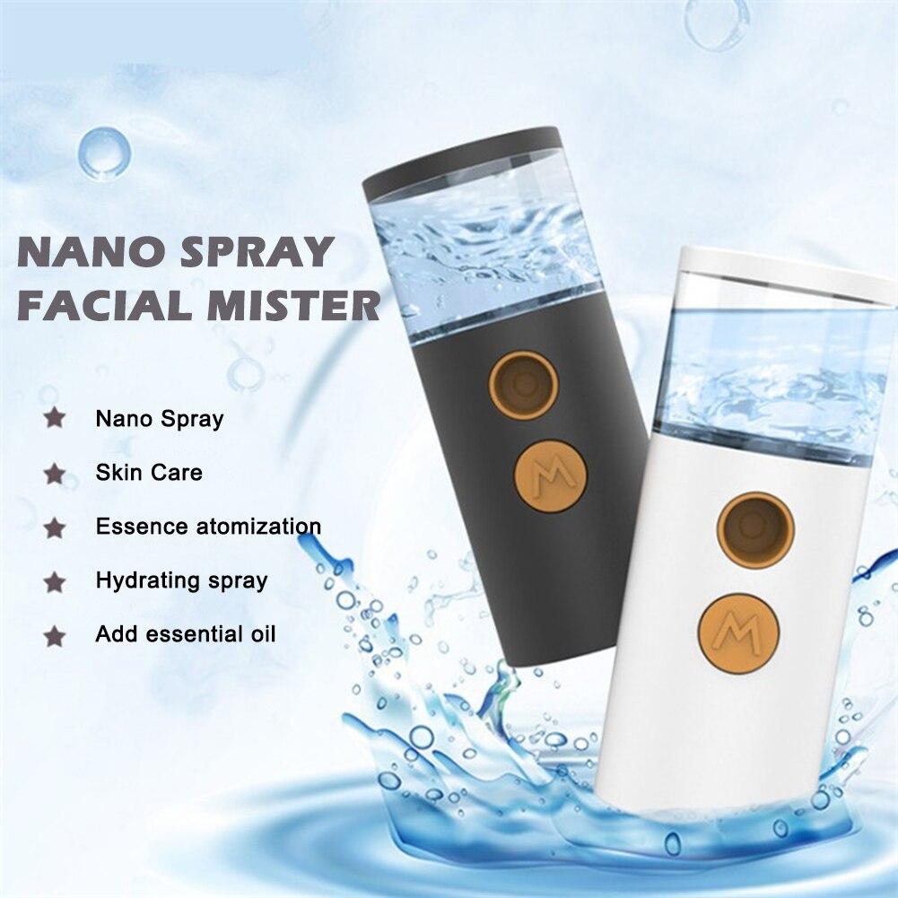 Small Nano Spray Water Replenishing Instrument Sprayer Portable Handheld Humidifier Nano Mist Sprayer  Skin Care Beauty Devices недорого