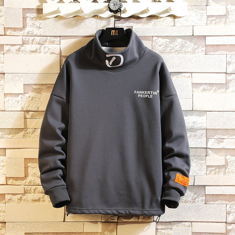 Fashion Brand Men Hoodies 2020 Spring Autumn KOREA Hip Hop Loose Casual Mens Sweatshirts Streetwear Clothes
