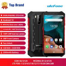 Смартфон Ulefone Armor X5 IP68/IP69K, прочный, ударопрочный, Android 10,0, 5000 мАч, Восьмиядерный, 5,5 дюймов, две sim-карты, OTG NFC, 3 ГБ, 32 ГБ, 4G LTE