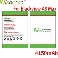wisecoco mobile phone battery for blackview a8 max in stock high quality tracking code