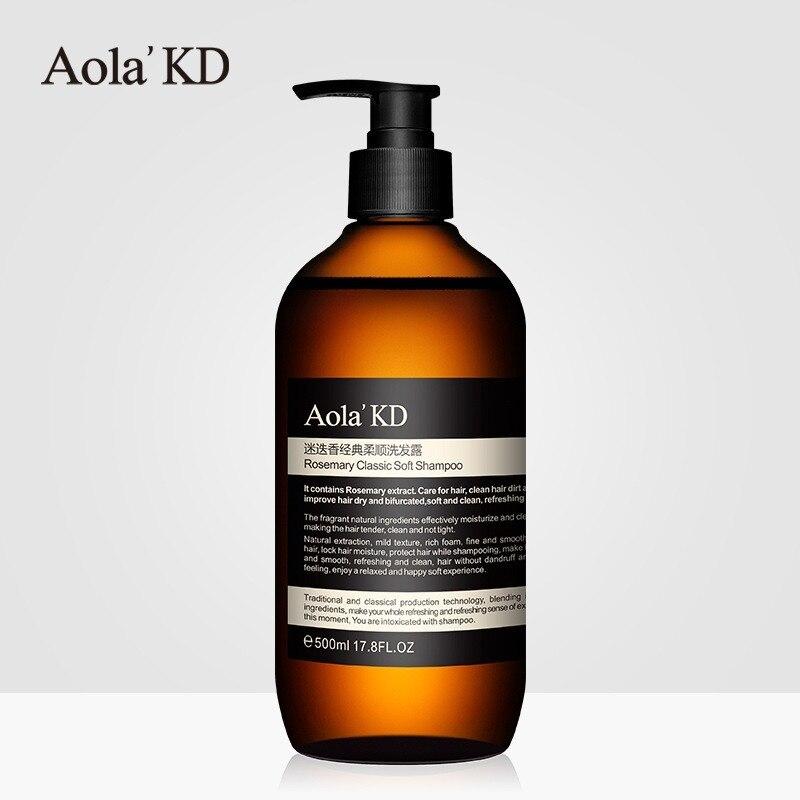 Romarin classique conforme shampooing 500ml rafraîchissant huile-contrôle Anti-pelliculaire Anti-perte parfumé durable shampooing cheveux
