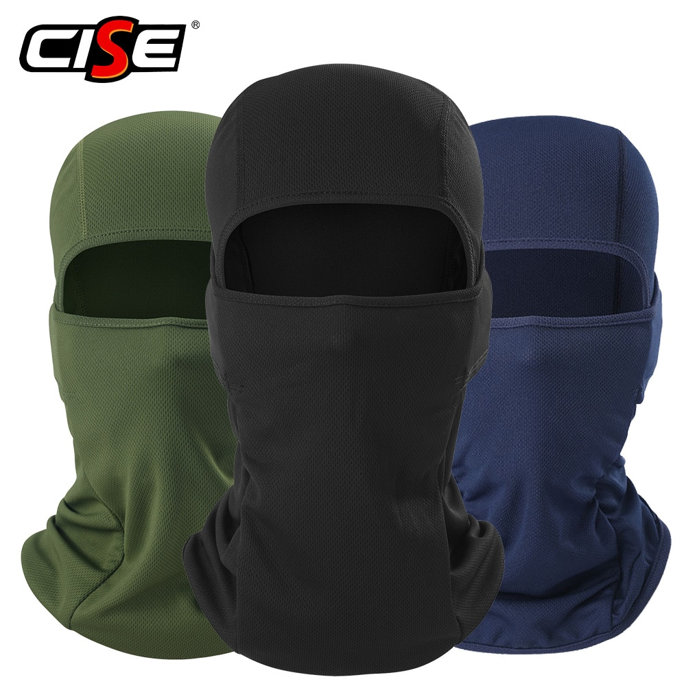 Motorcycle Balaclava Full Face Cover Warmer Windproof Breathable Motorbike Motocross Cycling Biker C