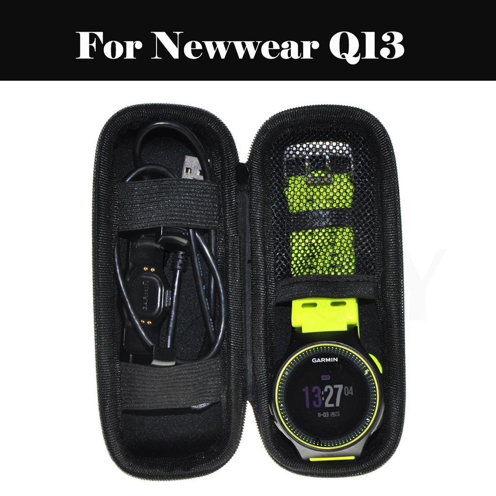 EastVita duro portátil protectora de la cáscara de la bolsa de almacenamiento bolsa de la cubierta de la caja con compartimentos para smartwatch para ropa nueva Q13