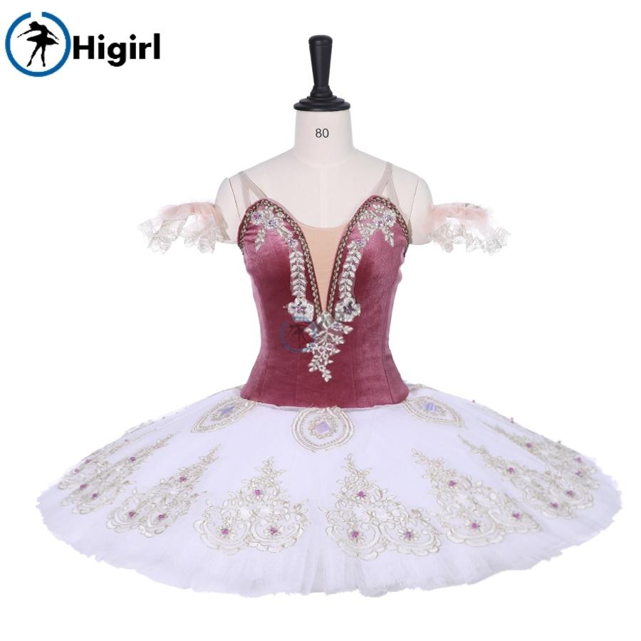 Adult Professional Ballet Tutus Custom Made Vintage Classical Ballet Tutu Nutcracker Pancake Ballet Costume Ballet DressBT9224