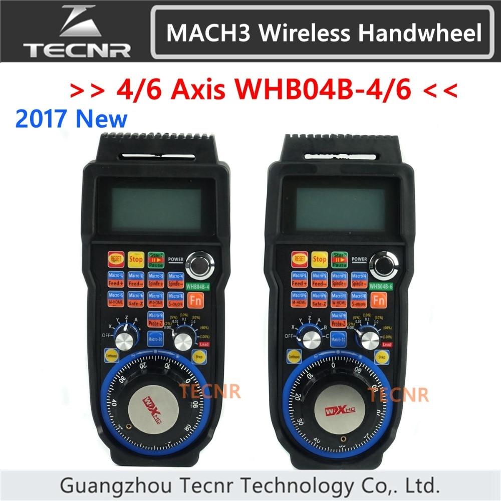 XHC CNC handwheel אלחוטי Mach3 MPG תליון handwheel עבור כרסום מכונה 4 6 ציר MPG WHB04B-4 WHB04B-6