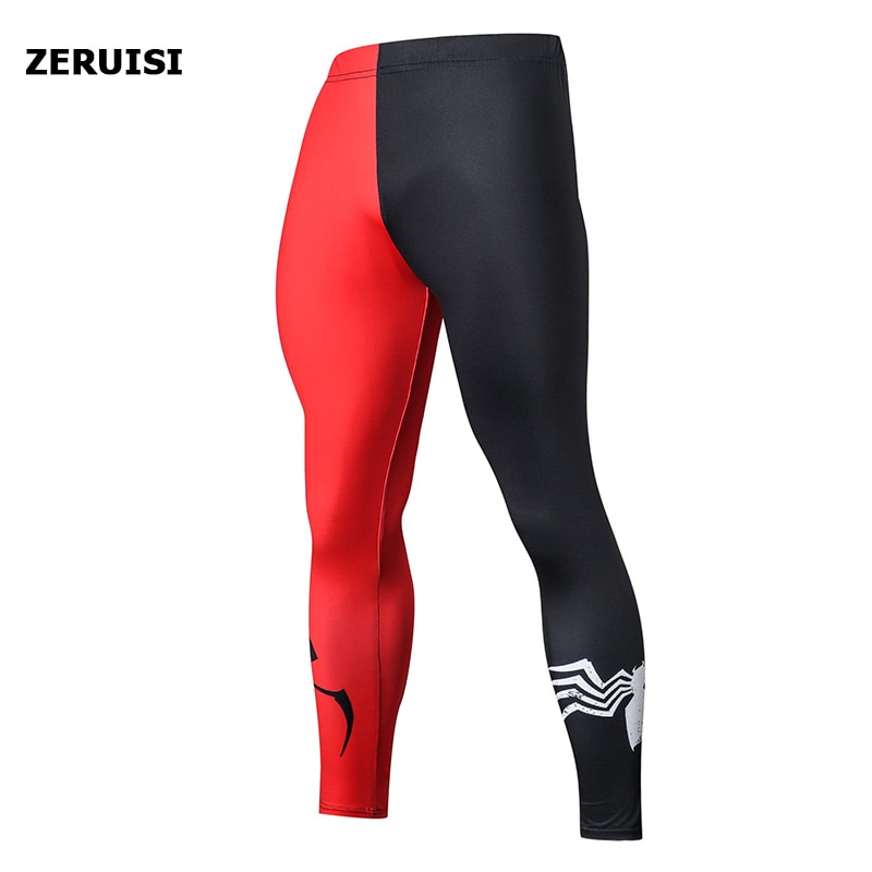 2019 Compression Pants Running Tights Men Training Pants Fitness Streetwear Leggings Men Gym Jogging Trousers Sportswear Pants sports wear compression training pants men running fitness sets tights gym clothes basketball jacket leggings deportes tights s 4xl black autumn winter jogging costume