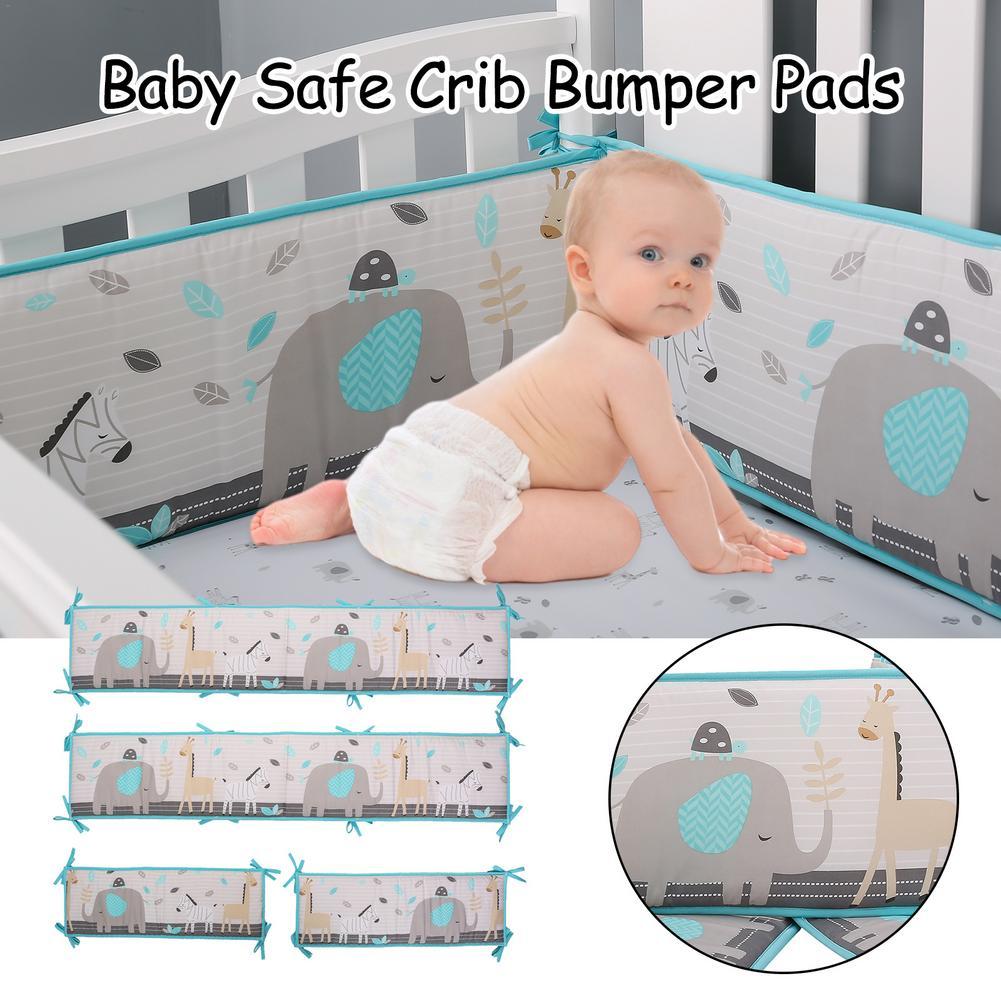 4 шт., Детские бамперы для детской кроватки