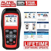 Autel MaxiTPMS TS501 OBD2 автомобильный диагностический датчик давления в шинах и считыватель кодов