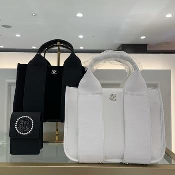 New ladies golf handbags ladies bags Korean fashion design embossed bags ladies golf handbags storage