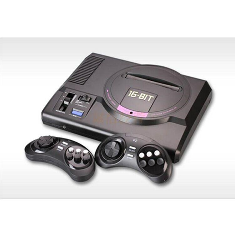 Pop-MEGADRIVE 1 MD Genesis de 16 bits, máquina Compatible con tarjeta de...