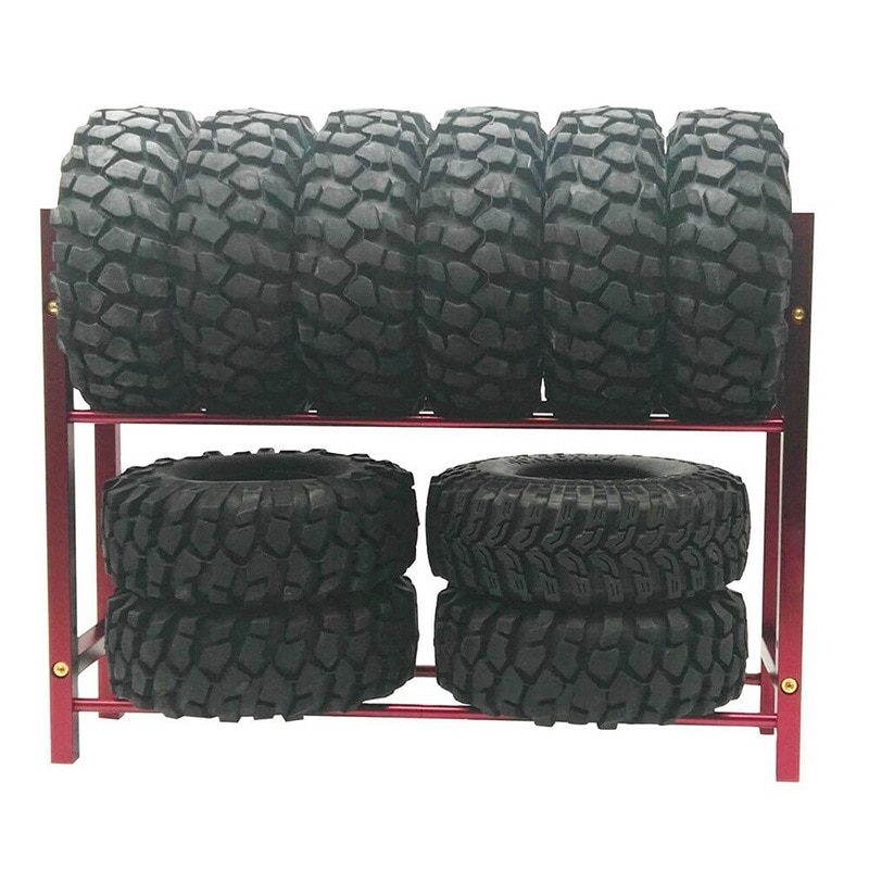 for RC Drift Cars 1/10 Wheel Rims Shelf & Drift Tyre Tire Racks Crawler SCX10 TRX4 enlarge
