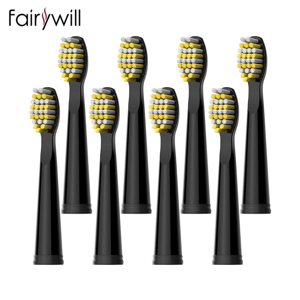 Fairywill  4pcs 8pcs 16pcs Electric Toothbrush Heads Sonic Replaceable Soft Bristle for FW-507 FW-508 FW-917 FW-959 FW-551
