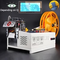 220v 230v eagerly cold cut cutting machine computer slicing rope ribbon velcro zipper webbing rubber band elastic band 9 5cm