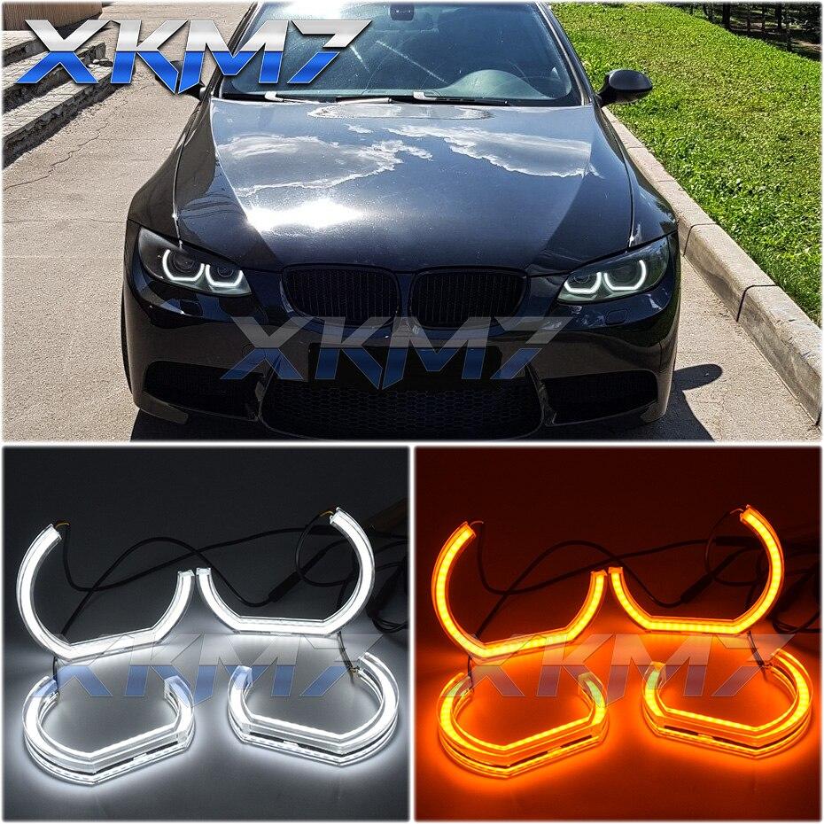 Ojos de Ángel Tuning LED para BMW E90 E92 Coupe E93 E91 335I 325I 328I 330I xenón faros DTM Halo luces del coche accesorios de modificación