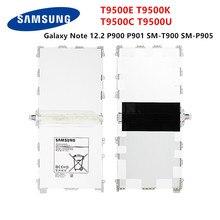 Планшет SAMSUNG Orginal T9500E T9500K T9500C T9500U аккумулятор 9500 мАч для Samsung Galaxy Note 12,2 P900 P901 P905 T900 SM-P900
