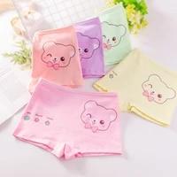 new childrens underwear pure cotton girls boxer shorts baby underwear cartoon breathable underwear 2 12 years old loli cartoon